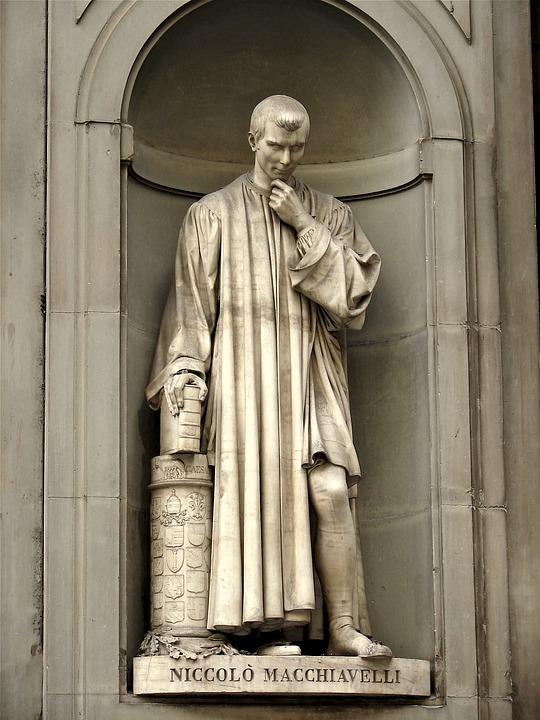 Niccolò Macchiavelli, Florencja, Artwork