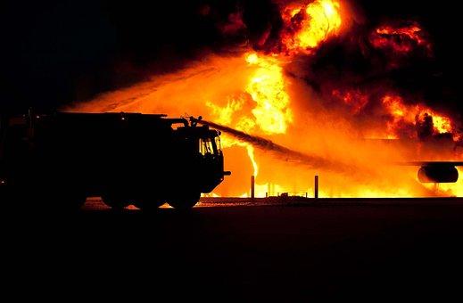 Le Feu, Pompiers, Service D'Incendie