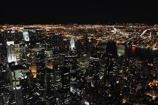 New York Manhattan Skyline City Chrys