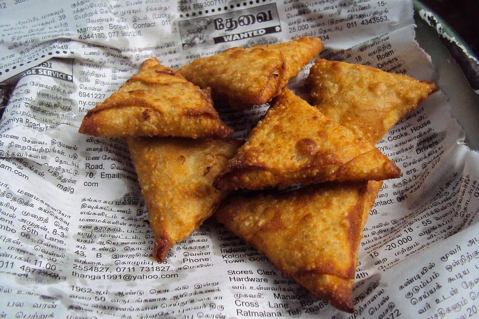 Samosa, Fast Food, Sri Lanka, Indian, Food, Recipe