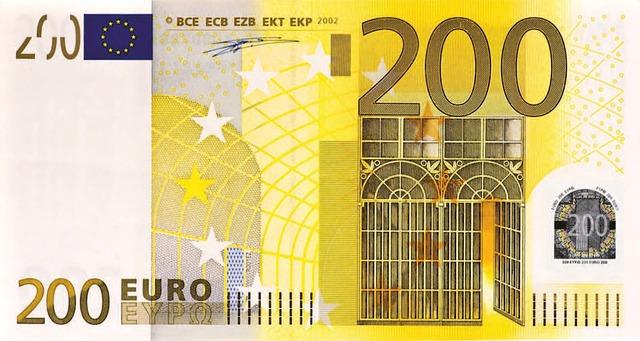 New 10000 Dollar Bill Geldschein 200 Euro Ge...
