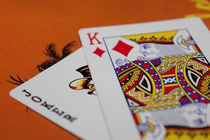 De joker maakt automatisch eender welke hand een totaal van 21 punten
