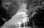 waterfall, water, cascade