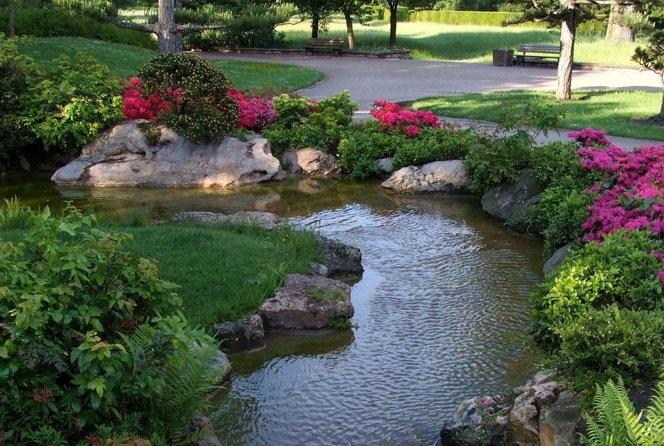 Paysage jardin japonais d sseldorf photo gratuite sur for Paysage jardin japonais
