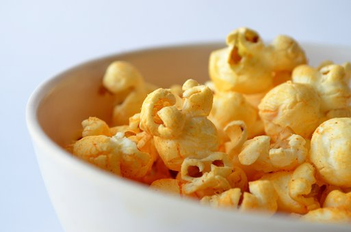 Popcorn Salted Bowl View Close Close-