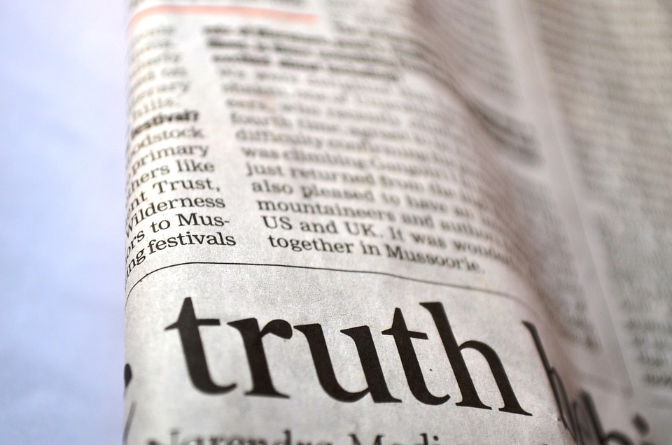 Sanningen, Tidningen, Nyheter, Tryckt, Text, Meddelande