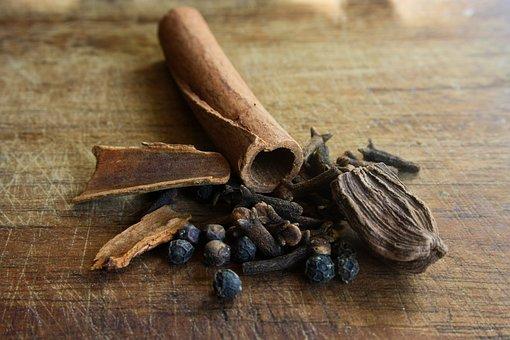 Spices, India, Exotic, Food, Cinnamon