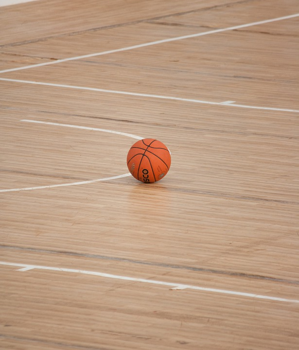 Basketball, Ball, Sports, Court, Lines, Play