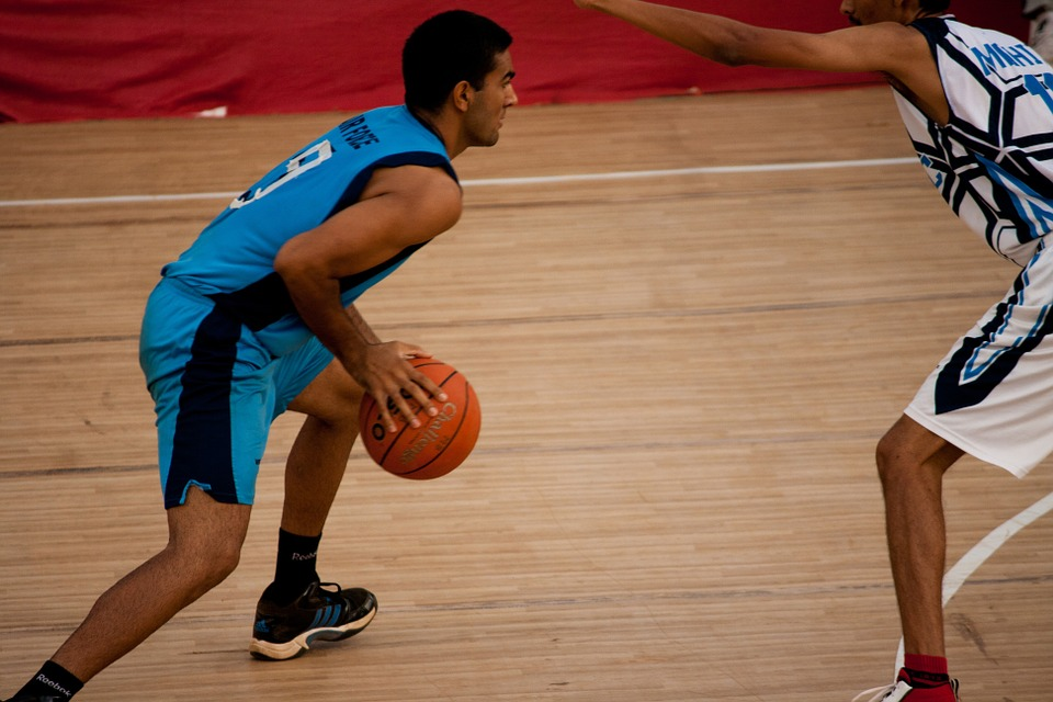 Basketball, Players, Sport, Playing, Game, Basket, Male