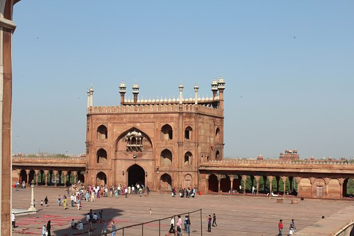 Red Fort, India, Architecture, Palace