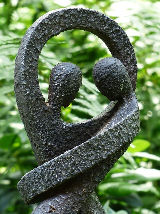 Foto gratis par amantes uni n juntos imagen gratis - Esculturas para jardines ...