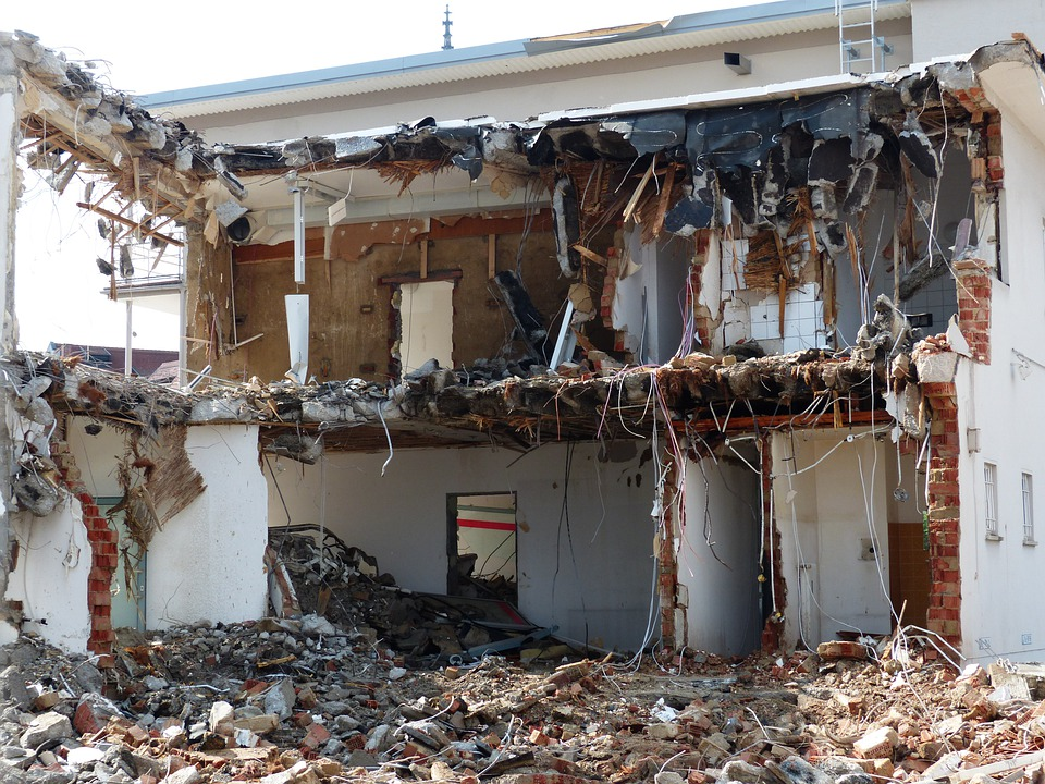 free photo  demolition  building rubble  crash - free image on pixabay