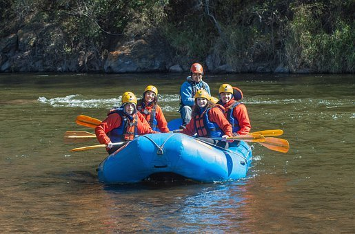 Rafting Raft Boat Boating People Adventure