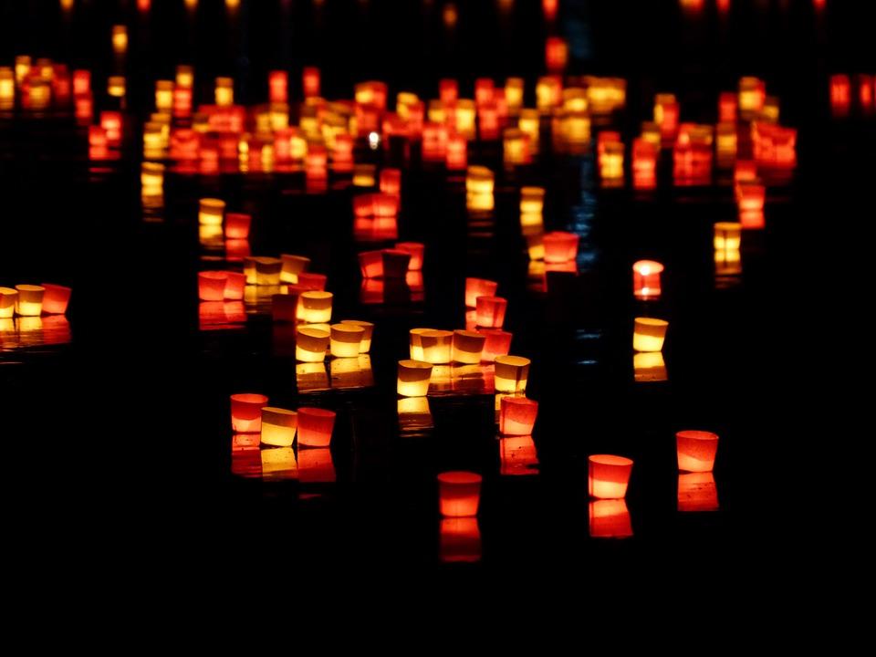 free photo candles lights serenade lights free image. Black Bedroom Furniture Sets. Home Design Ideas