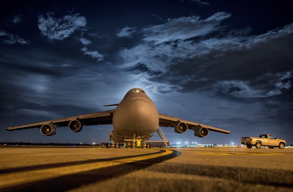 Plane, Aircraft, Jet, Airbase, Airport