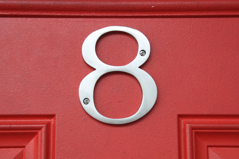 Free Photo Number 8 Door Close Up Number Free Image