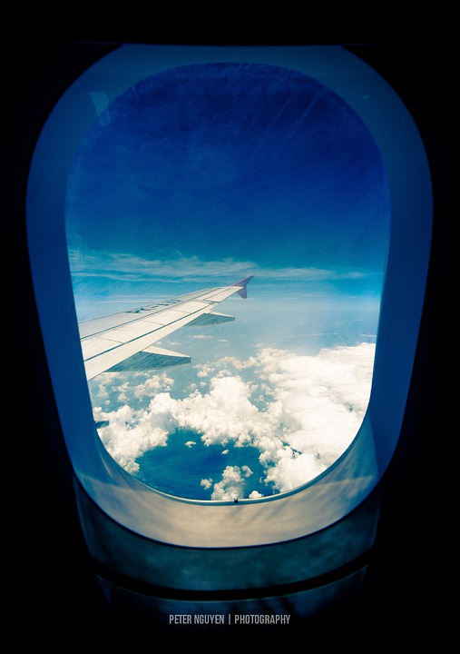 Free Photo Plane Airplane Window Wing Free Image On