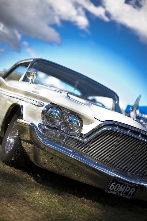 car vintage car retro automobiles