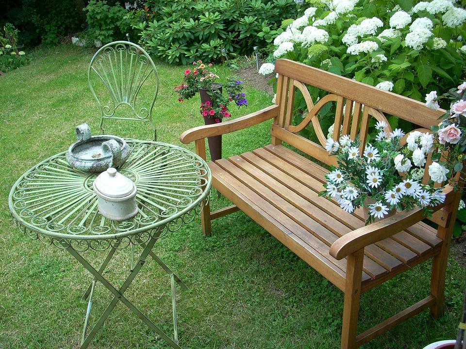 Garden, Romantic, Flowers, Plants, Background