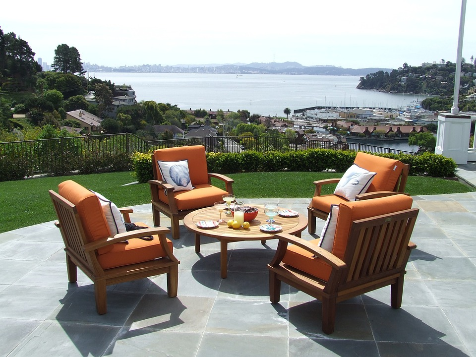 Free Photo Teak Teak Patio Furniture Image On