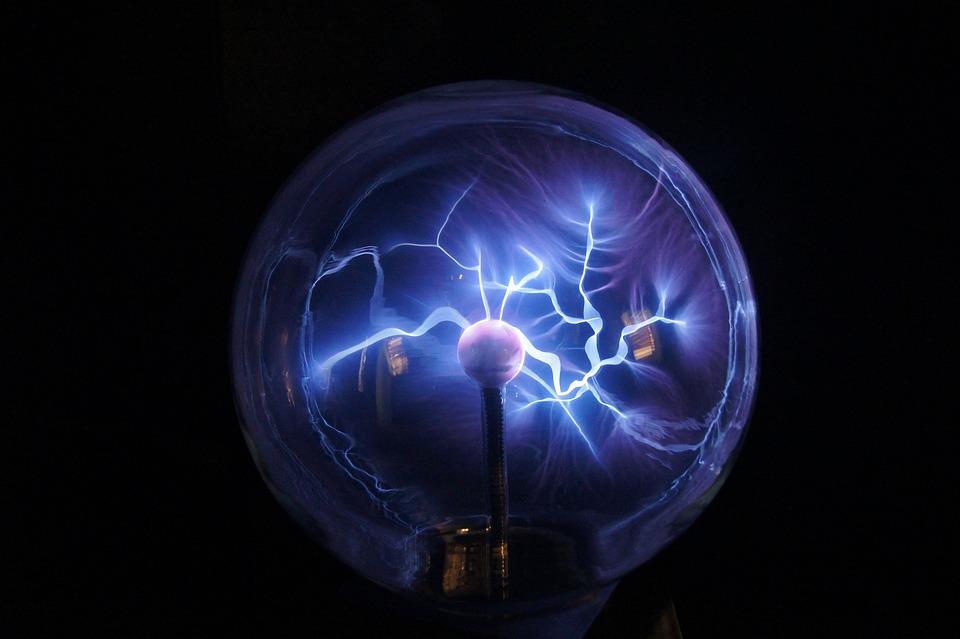 プラズマ ボール, プラズマ, プラズマ ランプ
