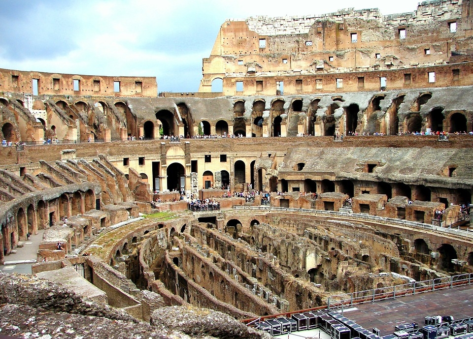 the roman colosseum a history Secrets of the colosseum  pope sixtus v, the builder of renaissance rome, tried to transform the colosseum into a wool factory, with workshops on the arena floor and living quarters in the.
