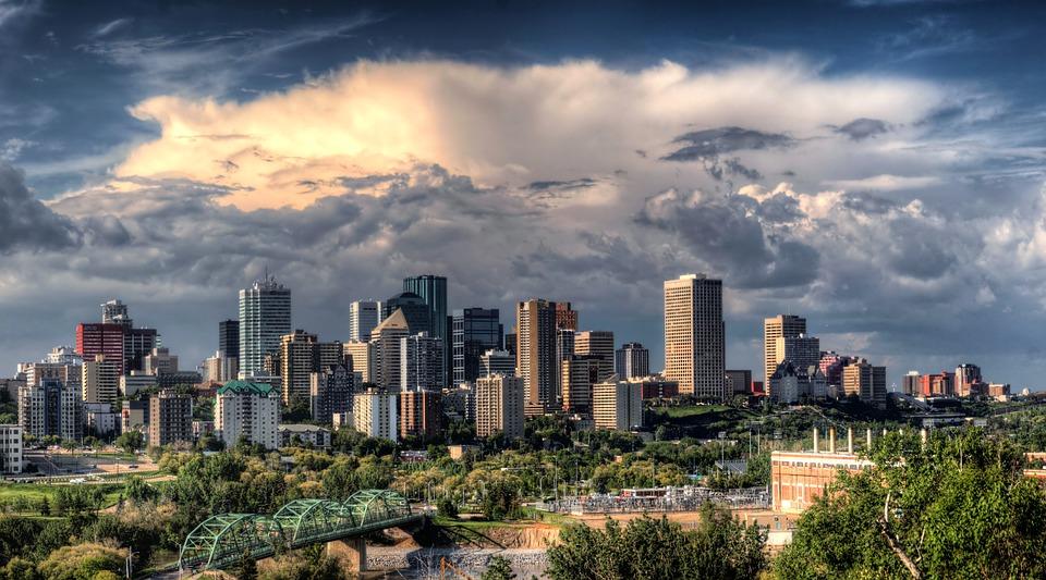 Edmonton, Kanada, City, Cytuje, Miejskich, Budynków