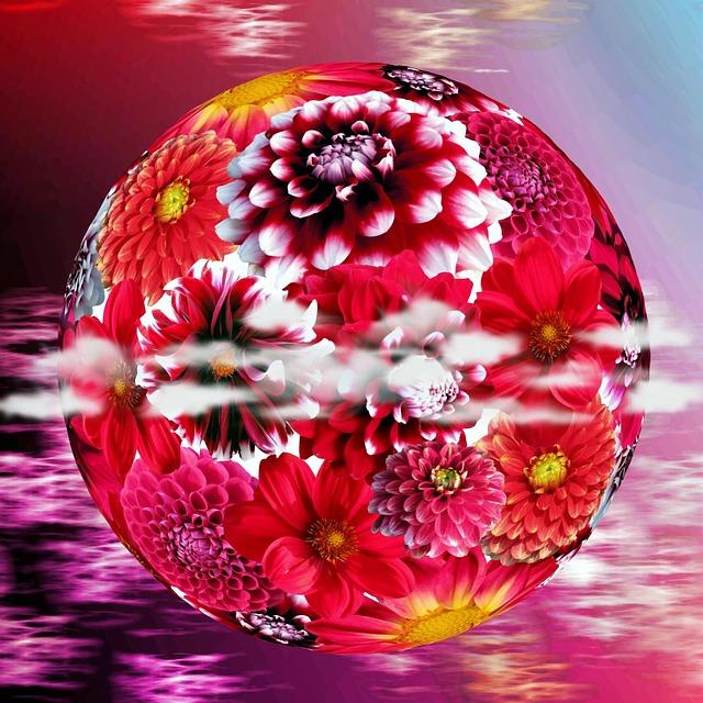 Dalia flor dahlia la imagen gratis en pixabay - Image fleur violette gratuite ...
