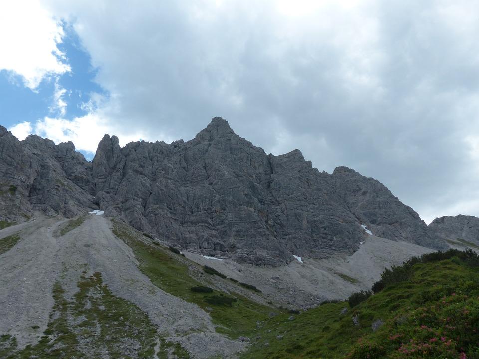 Klettersteig Lachenspitze Bilder : Lachenspitze