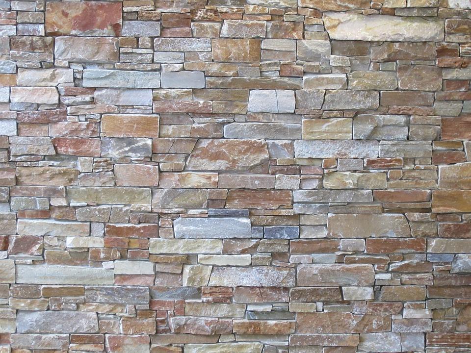 textura piedra la pared muro fondo
