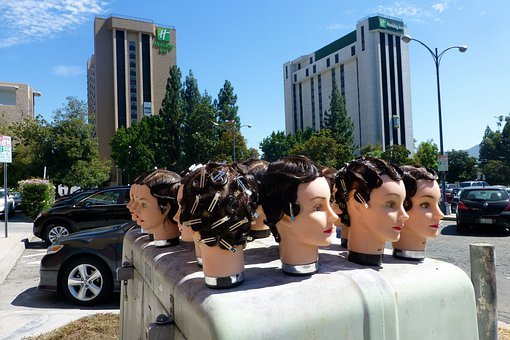 Heads, Hair, Hairdo, Hairstyle