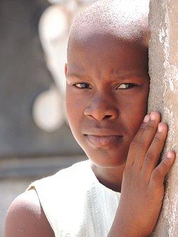 meztelen afrikai tini lány