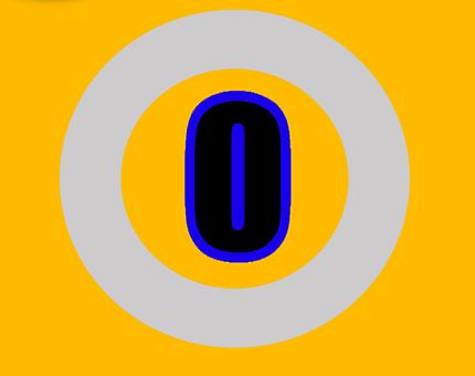 Zero, Number, Numbers, Digit, Design