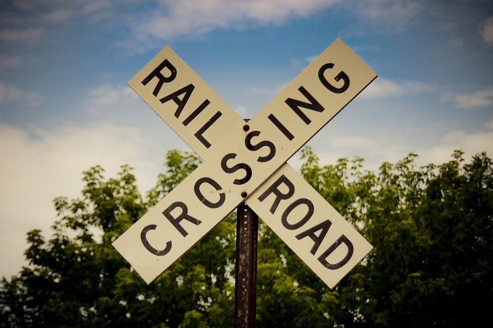 graphic relating to Railroad Crossing Sign Printable referred to as 60+ Cost-free Railroad Crossing Indication Indication Pics - Pixabay