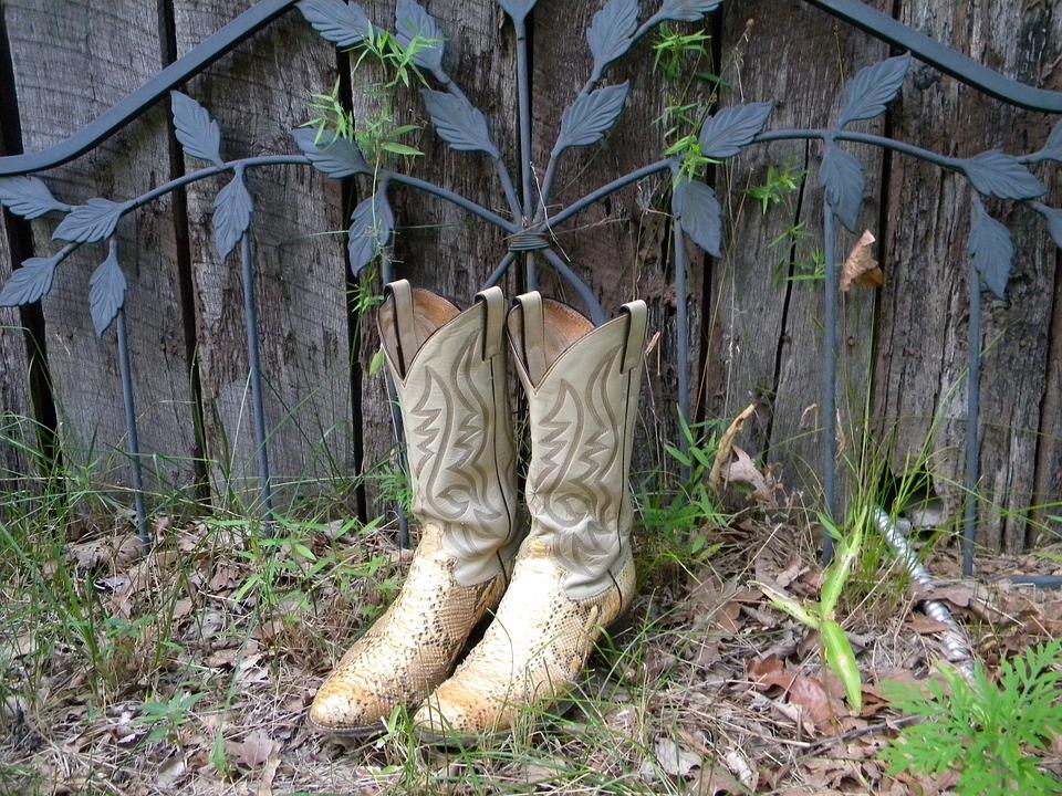 Cowboy Boots Laarzen Tuin Gratis foto op Pixabay