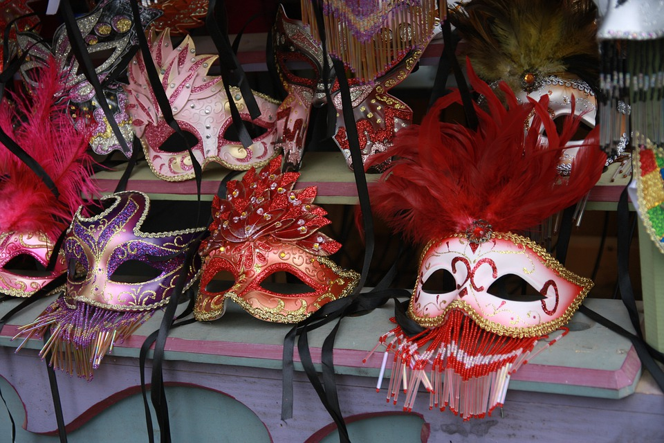 Masks, Colorful, Mask, Face, Masquerade, Carnival