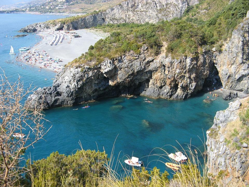 Calabria, San Nicola Arcella, Mare, Estate, Spiaggia