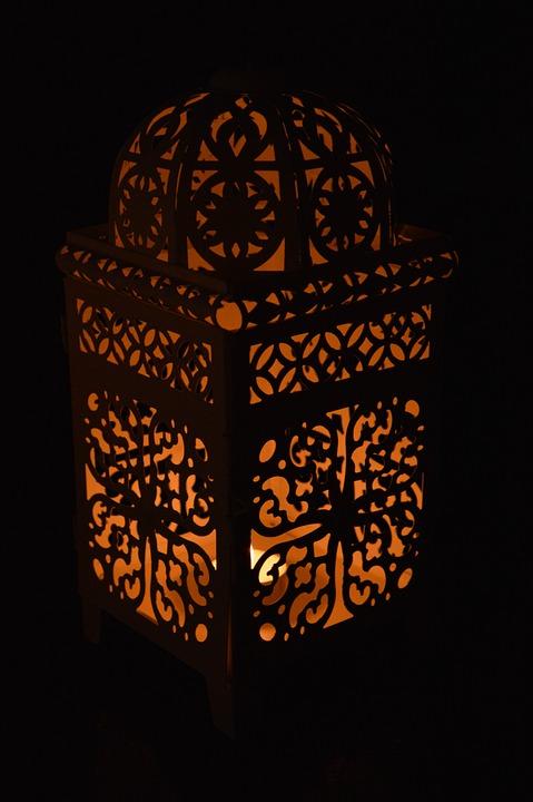 lampe til stearinlys