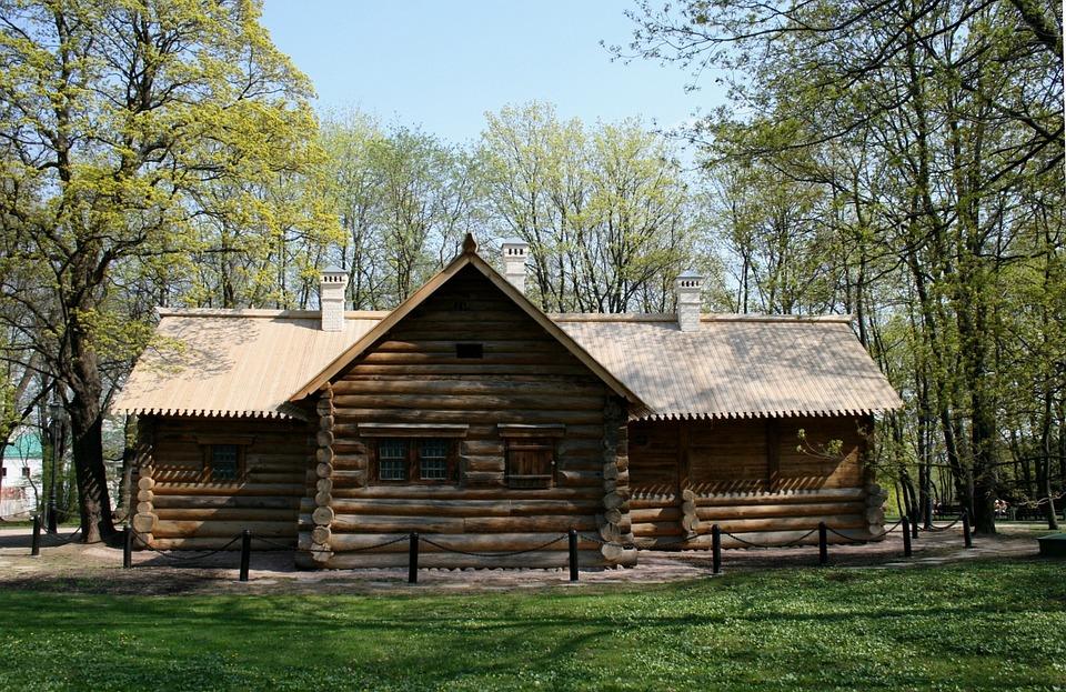 Free Photo Log Cabin Wood Cabin Hut Brown Free Image