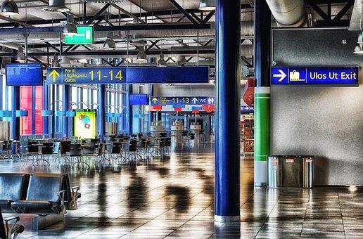 オウル, フィンランド, 交通, 空港, ターミナル, 航空輸送, 旅行, 建物
