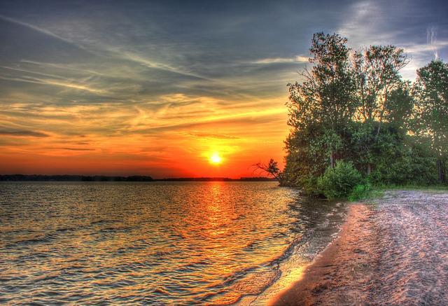 Sunset Landscape Scenery · Free Photo On Pixabay