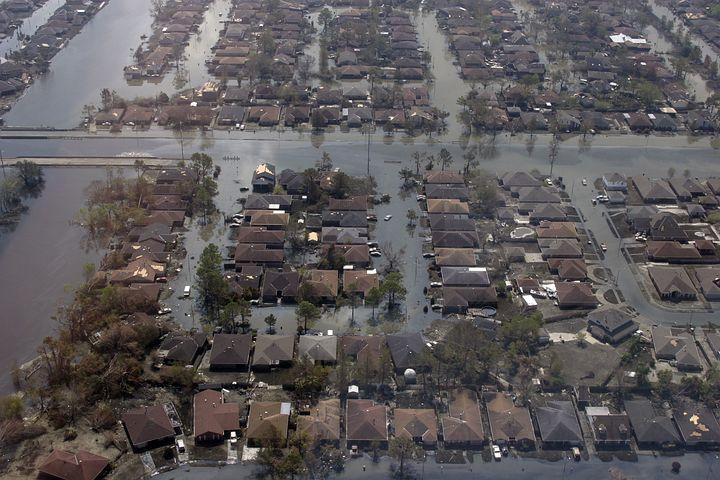 Новый орлеан фото после урагана