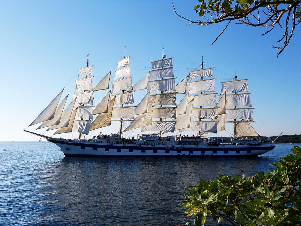 Segeln, Schiff, Meer