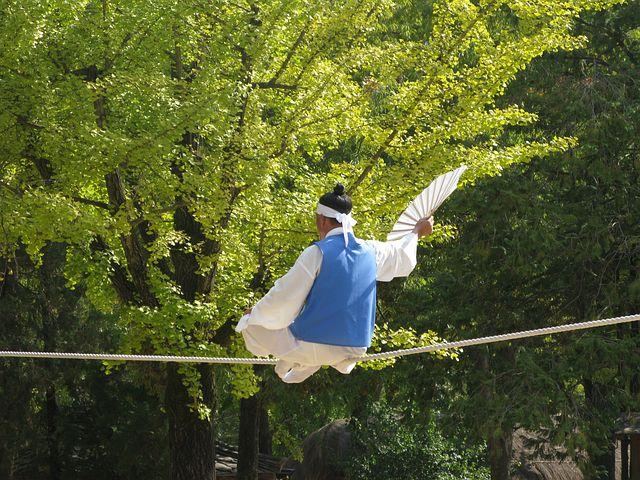 Penari, Bertindak, Korea, Budaya