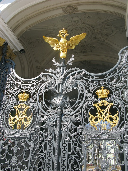 St Petersburg, Door, Russia, Decoration, Entrance