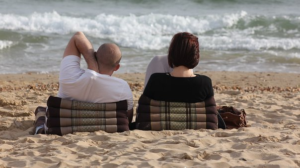 People, Leisure, Couple, Relaxing