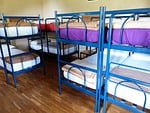beds, youth hostel, bunk beds