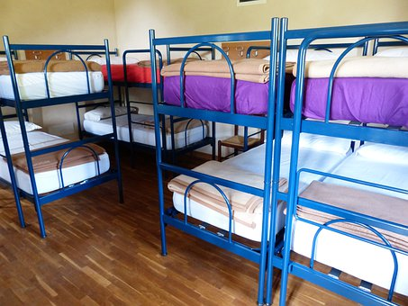 Beds, Youth Hostel, Travel Australia like a Skint Tight Ass