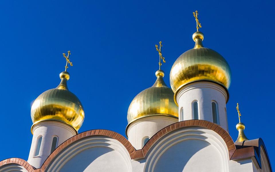 Coupoles de Moscou