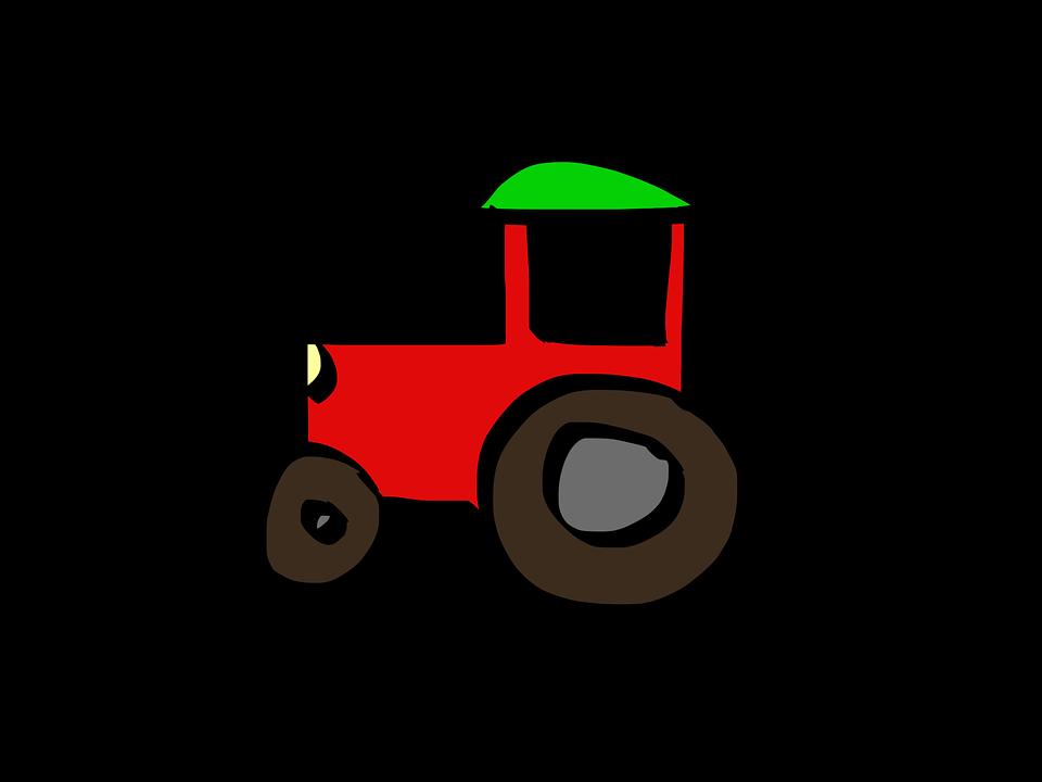 Tractor Cartoon Free Image On Pixabay